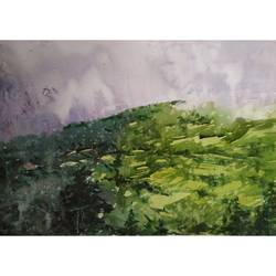 green, 16 x 12 inch, soyli saha,16x12inch,brustro watercolor paper,paintings,landscape paintings,conceptual paintings,nature paintings | scenery paintings,photorealism paintings,realism paintings,contemporary paintings,realistic paintings,paintings for dining room,paintings for living room,paintings for bedroom,paintings for office,paintings for bathroom,paintings for kids room,paintings for hotel,paintings for kitchen,paintings for school,paintings for hospital,watercolor,GAL0606541021