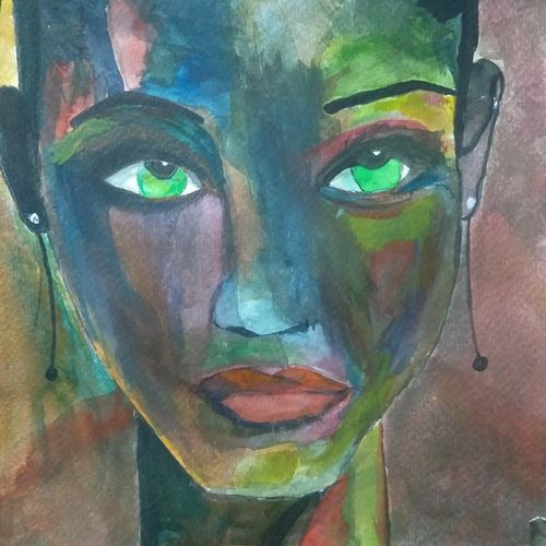 spontaneous realism, 8 x 8 inch, justin britto,8x8inch,brustro watercolor paper,paintings,abstract paintings,paintings for dining room,paintings for living room,paintings for office,paintings for kids room,paintings for kitchen,paintings for hospital,watercolor,GAL02836841037