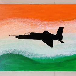 military aviation , 18 x 24 inch, deepika singh,18x24inch,canvas,paintings,abstract paintings,landscape paintings,conceptual paintings,nature paintings | scenery paintings,abstract expressionism paintings,paintings for dining room,paintings for living room,paintings for bedroom,paintings for office,paintings for kids room,paintings for hotel,paintings for kitchen,paintings for school,paintings for hospital,acrylic color,GAL02899341133