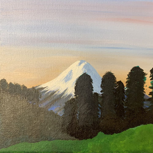 snow capped mountain, 10 x 8 inch, binita panwala,10x8inch,canvas board,paintings,landscape paintings,modern art paintings,nature paintings | scenery paintings,paintings for dining room,paintings for living room,paintings for bedroom,paintings for office,paintings for bathroom,paintings for kids room,paintings for hotel,paintings for kitchen,acrylic color,GAL02905741170