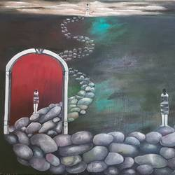 journey , 36 x 24 inch, shikha gupta,36x24inch,canvas,paintings,landscape paintings,modern art paintings,conceptual paintings,expressionism paintings,impressionist paintings,contemporary paintings,paintings for dining room,paintings for living room,paintings for bedroom,paintings for office,paintings for hotel,paintings for school,paintings for hospital,oil color,GAL02750341190