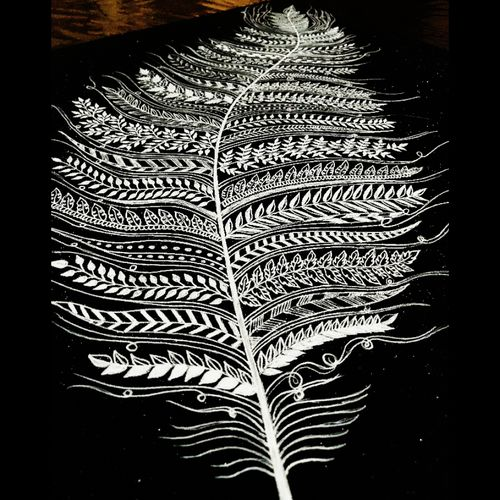 leaf painting, 18 x 18 inch, bismita aruk,18x18inch,thick paper,drawings,fine art drawings,paintings for living room,paintings for bedroom,paintings for office,paintings for hotel,paintings for school,paintings for hospital,pen color,GAL02917941223