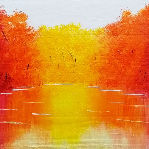 colourful scenery, 11 x 6 inch, sneha petkar,11x6inch,canvas,abstract paintings,landscape paintings,nature paintings | scenery paintings,paintings for dining room,paintings for living room,paintings for bedroom,paintings for office,paintings for kids room,paintings for hotel,paintings for dining room,paintings for living room,paintings for bedroom,paintings for office,paintings for kids room,paintings for hotel,acrylic color,GAL02902141225