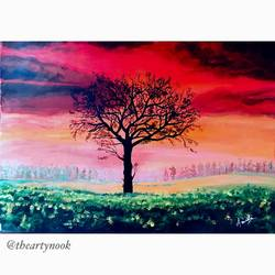 sunset painting acrylic original abstract tree landscape, 20 x 14 inch, amrita patnaik,20x14inch,oil sheet,paintings,landscape paintings,nature paintings | scenery paintings,minimalist paintings,contemporary paintings,realistic paintings,paintings for dining room,paintings for living room,paintings for bedroom,paintings for office,paintings for kids room,paintings for hotel,paintings for school,paintings for hospital,paintings for dining room,paintings for living room,paintings for bedroom,paintings for office,paintings for kids room,paintings for hotel,paintings for school,paintings for hospital,acrylic color,GAL02920141269