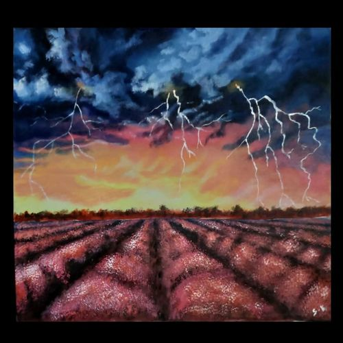 the thunder and its magic, 15 x 12 inch, smita kakati,15x12inch,canvas,paintings,abstract paintings,wildlife paintings,modern art paintings,conceptual paintings,nature paintings | scenery paintings,pop art paintings,realism paintings,contemporary paintings,love paintings,acrylic color,fabric,GAL02922441317