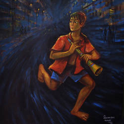 little demand, 30 x 36 inch, soumen das,30x36inch,canvas,paintings,abstract paintings,acrylic color,GAL02253141348