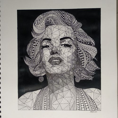 marilyn monroe, 11 x 17 inch, itishree  sahu,11x17inch,drawing paper,drawings,abstract drawings,abstract expressionism drawings,conceptual drawings,figurative drawings,fine art drawings,graffiti drawings,illustration drawings,modern drawings,pop art drawings,portrait drawings,paintings for dining room,paintings for living room,paintings for bedroom,paintings for office,paintings for bathroom,paintings for hotel,paintings for kitchen,acrylic color,ink color,mixed media,pen color,paper,GAL01387341374