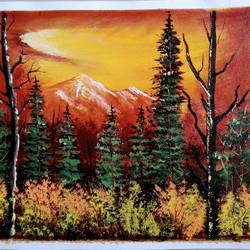 golden era of, 12 x 10 inch, sai amale ,12x10inch,canvas,paintings,landscape paintings,nature paintings   scenery paintings,paintings for dining room,paintings for living room,paintings for bedroom,paintings for office,paintings for hotel,acrylic color,GAL02904141379