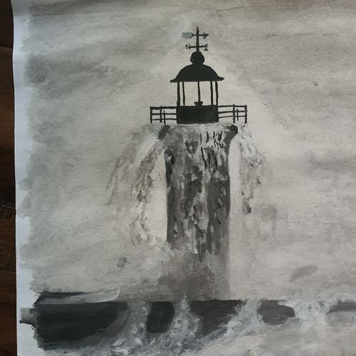 the lighthouse, 11 x 14 inch, chetan mahapatra,11x14inch,paper,paintings,landscape paintings,nature paintings   scenery paintings,paintings for dining room,paintings for living room,paintings for bedroom,paintings for office,paintings for hotel,paintings for school,paintings for hospital,paintings for dining room,paintings for living room,paintings for bedroom,paintings for office,paintings for hotel,paintings for school,paintings for hospital,watercolor,GAL02700841389