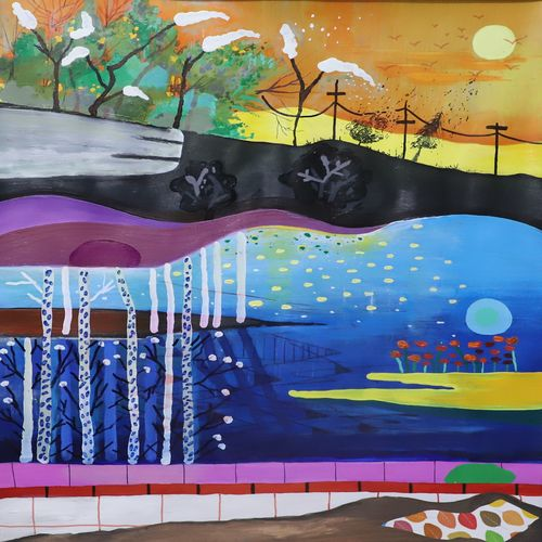 landscape 2, 22 x 28 inch, nakul chauhan,22x28inch,ivory sheet,paintings,abstract paintings,flower paintings,landscape paintings,modern art paintings,nature paintings | scenery paintings,abstract expressionism paintings,expressionism paintings,impressionist paintings,contemporary paintings,paintings for dining room,paintings for living room,paintings for bedroom,paintings for office,acrylic color,GAL02931241423