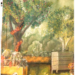 cherry tree, 18 x 24 inch, surindr pal singh,18x24inch,canvas,paintings,landscape paintings,oil color,GAL02932341454