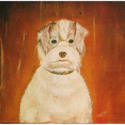 hardy, 24 x 18 inch, surindr pal singh,24x18inch,canvas,paintings,animal paintings,paintings for living room,paintings for bedroom,paintings for office,paintings for kids room,paintings for hotel,paintings for school,oil color,GAL02932341456