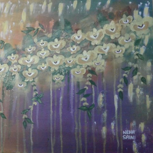 awesome orchids, 20 x 30 inch, neha saini,20x30inch,canvas,abstract paintings,paintings for living room,paintings for bedroom,paintings for office,paintings for hotel,paintings for living room,paintings for bedroom,paintings for office,paintings for hotel,acrylic color,GAL02682541464
