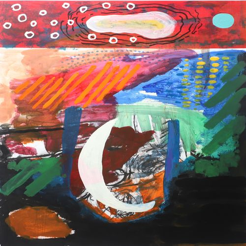 sea moon, 12 x 16 inch, nakul chauhan,12x16inch,ivory sheet,paintings,abstract paintings,wildlife paintings,flower paintings,landscape paintings,modern art paintings,conceptual paintings,nature paintings | scenery paintings,abstract expressionism paintings,expressionism paintings,impressionist paintings,contemporary paintings,paintings for dining room,paintings for living room,paintings for bedroom,paintings for office,paintings for bathroom,paintings for kids room,paintings for hotel,paintings for kitchen,paintings for school,acrylic color,pen color,GAL02931241516