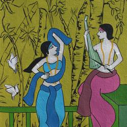 duo 2, 10 x 26 inch, chetan katigar,10x26inch,canvas,paintings,abstract paintings,buddha paintings,wildlife paintings,figurative paintings,flower paintings,folk art paintings,foil paintings,cityscape paintings,landscape paintings,modern art paintings,multi piece paintings,conceptual paintings,religious paintings,still life paintings,portrait paintings,nature paintings | scenery paintings,abstract expressionism paintings,art deco paintings,dada paintings,expressionism paintings,impressionist paintings,minimalist paintings,photorealism paintings,photorealism,portraiture,realism paintings,street art,surrealism paintings,ganesha paintings | lord ganesh paintings,animal paintings,radha krishna paintings,contemporary paintings,horse paintings,dog painting,water fountain paintings,kalamkari painting,miniature painting.,kerala murals painting,paintings for dining room,paintings for living room,paintings for bedroom,paintings for office,paintings for bathroom,paintings for kids room,paintings for hotel,paintings for kitchen,paintings for school,paintings for hospital,acrylic color,GAL026641552