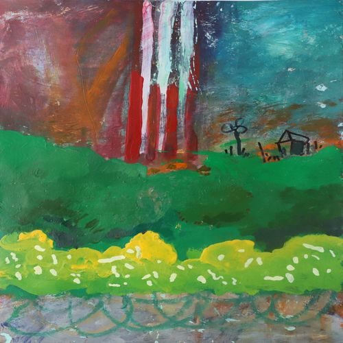 field after war, 12 x 16 inch, nakul chauhan,12x16inch,ivory sheet,paintings,abstract paintings,wildlife paintings,flower paintings,landscape paintings,modern art paintings,conceptual paintings,nature paintings   scenery paintings,abstract expressionism paintings,expressionism paintings,impressionist paintings,contemporary paintings,paintings for dining room,paintings for living room,paintings for bedroom,paintings for office,paintings for bathroom,paintings for kids room,paintings for hotel,paintings for kitchen,paintings for school,acrylic color,GAL02931241559