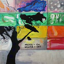 music on , world off, 12 x 16 inch, nakul chauhan,12x16inch,ivory sheet,paintings,abstract paintings,wildlife paintings,flower paintings,landscape paintings,modern art paintings,conceptual paintings,nature paintings | scenery paintings,abstract expressionism paintings,expressionism paintings,impressionist paintings,contemporary paintings,paintings for dining room,paintings for living room,paintings for bedroom,paintings for office,paintings for bathroom,paintings for kids room,paintings for hotel,paintings for kitchen,paintings for school,acrylic color,pen color,GAL02931241564