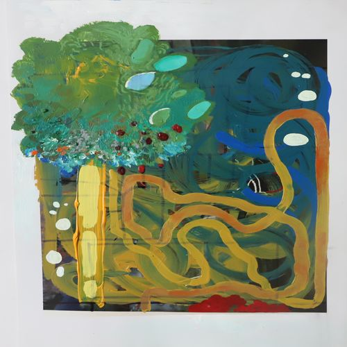 riddle tree, 12 x 18 inch, nakul chauhan,12x18inch,thick paper,paintings,abstract paintings,wildlife paintings,flower paintings,landscape paintings,modern art paintings,conceptual paintings,nature paintings | scenery paintings,abstract expressionism paintings,expressionism paintings,impressionist paintings,contemporary paintings,paintings for dining room,paintings for living room,paintings for bedroom,paintings for office,paintings for bathroom,paintings for kids room,paintings for hotel,paintings for kitchen,paintings for school,acrylic color,GAL02931241567