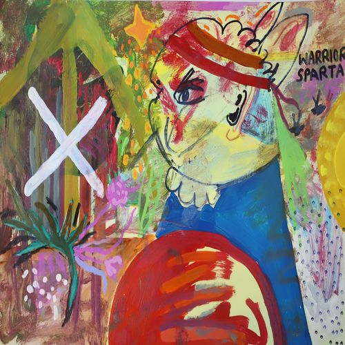 sparta warrior, 12 x 16 inch, nakul chauhan,12x16inch,ivory sheet,paintings,abstract paintings,wildlife paintings,figurative paintings,flower paintings,landscape paintings,modern art paintings,conceptual paintings,nature paintings   scenery paintings,abstract expressionism paintings,expressionism paintings,impressionist paintings,pop art paintings,contemporary paintings,paintings for dining room,paintings for living room,paintings for bedroom,paintings for office,paintings for bathroom,paintings for kids room,paintings for hotel,paintings for kitchen,paintings for school,acrylic color,pen color,GAL02931241577