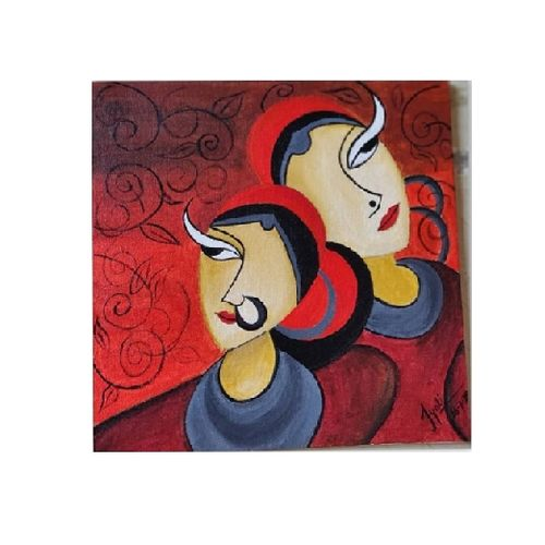 acrylic painting, 12 x 16 inch, smart santhosh,12x16inch,canvas,paintings,abstract paintings,paintings for living room,paintings for bedroom,paintings for office,acrylic color,GAL02940141614