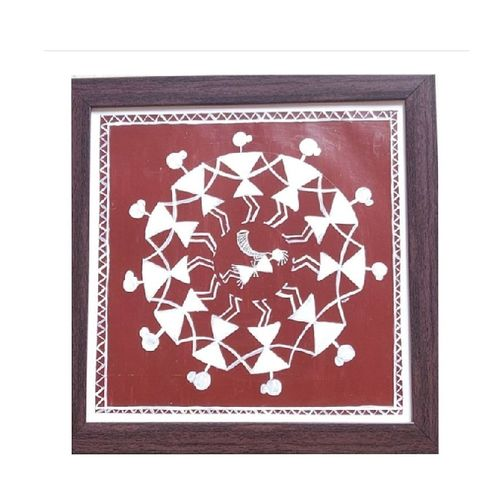 warli painting, 8 x 11 inch, smart santhosh,8x11inch,drawing paper,paintings,warli paintings,paintings for living room,paintings for bedroom,paintings for office,paintings for kids room,paintings for school,acrylic color,GAL02940141615