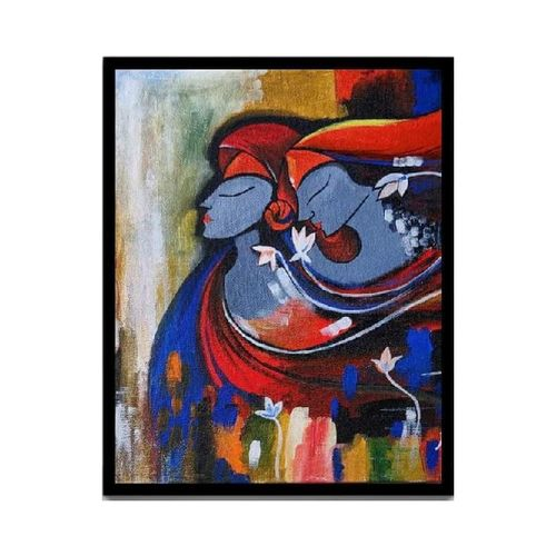 acrylic painting, 12 x 16 inch, smart santhosh,12x16inch,canvas,paintings,abstract paintings,love paintings,paintings for living room,paintings for bedroom,paintings for office,paintings for hotel,acrylic color,GAL02940141616