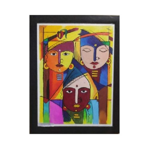 south asian art, 15 x 17 inch, smart santhosh,15x17inch,canvas,paintings,abstract paintings,modern art paintings,paintings for dining room,paintings for living room,paintings for bedroom,paintings for office,paintings for hotel,acrylic color,GAL02940141619