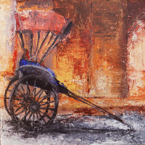 the heritage, 10 x 8 inch, debaditya sarkar,abstract paintings,paintings for office,canvas,acrylic color,10x8inch,GAL03964163