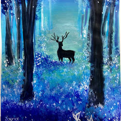 fantasy forest, 16 x 11 inch, zannat  parveen,16x11inch,cartridge paper,paintings,wildlife paintings,landscape paintings,nature paintings | scenery paintings,paintings for dining room,paintings for living room,paintings for bedroom,paintings for office,paintings for kids room,paintings for hotel,paintings for kitchen,paintings for school,paintings for hospital,acrylic color,GAL02943841656