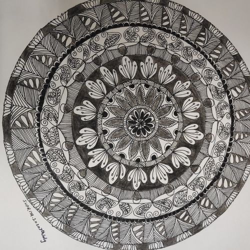 black and white mandala, 10 x 14 inch, supriya barsode,10x14inch,paper,drawings,paintings for dining room,paintings for living room,paintings for bedroom,paintings for office,paintings for kids room,paintings for hotel,paintings for kitchen,paintings for school,paintings for hospital,abstract drawings,paintings for dining room,paintings for living room,paintings for bedroom,paintings for office,paintings for kids room,paintings for hotel,paintings for kitchen,paintings for school,paintings for hospital,pen color,paper,GAL02914341763