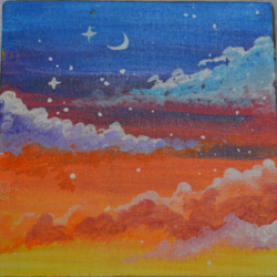 clouds in the rainbow, 6 x 6 inch, priyanka mantri,6x6inch,canvas,paintings,abstract paintings,cityscape paintings,landscape paintings,modern art paintings,conceptual paintings,portrait paintings,nature paintings   scenery paintings,expressionism paintings,portraiture,street art,paintings for dining room,paintings for living room,paintings for bedroom,paintings for office,paintings for bathroom,paintings for kids room,paintings for hotel,paintings for kitchen,paintings for school,paintings for hospital,paintings for dining room,paintings for living room,paintings for bedroom,paintings for office,paintings for bathroom,paintings for kids room,paintings for hotel,paintings for kitchen,paintings for school,paintings for hospital,acrylic color,GAL02951741767