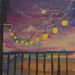 string lights sunset, 6 x 6 inch, priyanka mantri,6x6inch,canvas,paintings,abstract paintings,cityscape paintings,landscape paintings,modern art paintings,portrait paintings,portraiture,street art,paintings for dining room,paintings for living room,paintings for bedroom,paintings for office,paintings for bathroom,paintings for kids room,paintings for hotel,paintings for kitchen,paintings for school,paintings for hospital,paintings for dining room,paintings for living room,paintings for bedroom,paintings for office,paintings for bathroom,paintings for kids room,paintings for hotel,paintings for kitchen,paintings for school,paintings for hospital,acrylic color,GAL02951741769