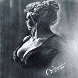 the lady in the dark, 9 x 14 inch, abhishek kumar,9x14inch,thick paper,drawings,fine art drawings,graphite pencil,GAL02958741831
