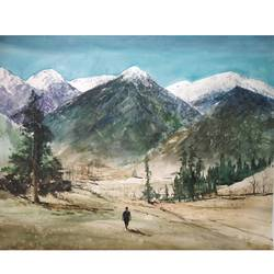 rock , 28 x 22 inch, soyli saha,28x22inch,thick paper,paintings,landscape paintings,conceptual paintings,nature paintings | scenery paintings,realism paintings,contemporary paintings,realistic paintings,paintings for dining room,paintings for living room,paintings for bedroom,paintings for office,paintings for bathroom,paintings for kids room,paintings for hotel,paintings for kitchen,paintings for school,paintings for hospital,watercolor,GAL0606541841