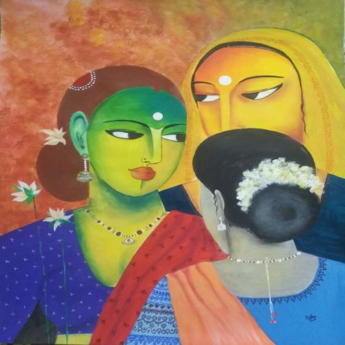 gossip, 22 x 28 inch, ramya arumugam,22x28inch,thick paper,abstract paintings,paintings for dining room,paintings for living room,paintings for bedroom,paintings for office,paintings for bathroom,paintings for hotel,paintings for kitchen,paintings for dining room,paintings for living room,paintings for bedroom,paintings for office,paintings for bathroom,paintings for hotel,paintings for kitchen,acrylic color,charcoal,pastel color,pen color,GAL01066141926
