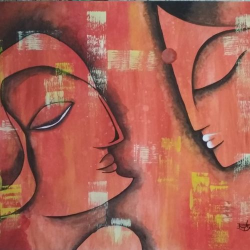 love, 28 x 22 inch, ramya arumugam,28x22inch,thick paper,paintings,abstract paintings,paintings for dining room,paintings for living room,paintings for bedroom,paintings for office,paintings for bathroom,paintings for hotel,paintings for kitchen,paintings for school,acrylic color,pastel color,pen color,pencil color,poster color,watercolor,ball point pen,GAL01066141927