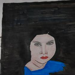 shade of life, 11 x 14 inch, dr.sankari v,11x14inch,thick paper,paintings,modern art paintings,conceptual paintings,portrait paintings,paintings for living room,paintings for office,acrylic color,pen color,paper,GAL02982441984