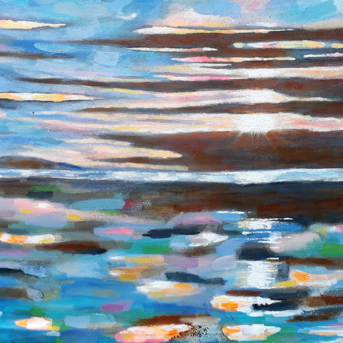 cluster of clouds (landscape - seascape) - 2, 24 x 40 inch, sandeep rawal ,24x40inch,canvas,paintings,abstract paintings,landscape paintings,modern art paintings,nature paintings | scenery paintings,abstract expressionism paintings,contemporary paintings,water fountain paintings,paintings for dining room,paintings for living room,paintings for bedroom,paintings for office,paintings for bathroom,paintings for kids room,paintings for hotel,paintings for school,paintings for hospital,acrylic color,GAL0251142022