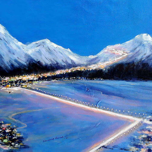 flaring city and nature at night (cityscape- nightscape) -2, 30 x 18 inch, sandeep rawal ,30x18inch,canvas,paintings,abstract paintings,cityscape paintings,landscape paintings,modern art paintings,nature paintings | scenery paintings,abstract expressionism paintings,art deco paintings,impressionist paintings,contemporary paintings,realistic paintings,love paintings,water fountain paintings,paintings for dining room,paintings for living room,paintings for bedroom,paintings for office,paintings for bathroom,paintings for kids room,paintings for hotel,paintings for school,paintings for hospital,acrylic color,GAL0251142031