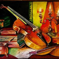 shades of music, 17 x 12 inch, priyesh soni,17x12inch,ivory sheet,paintings,still life paintings,photorealism paintings,paintings for dining room,paintings for living room,paintings for bedroom,paintings for office,paintings for bathroom,paintings for kids room,paintings for hotel,paintings for kitchen,paintings for school,paintings for hospital,oil color,GAL0822742100