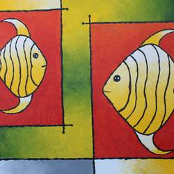 abstract fish painting for hotel and home, 30 x 24 inch, indiarts india,30x24inch,canvas board,abstract paintings,paintings for dining room,paintings for living room,paintings for bedroom,paintings for office,paintings for hotel,paintings for dining room,paintings for living room,paintings for bedroom,paintings for office,paintings for hotel,acrylic color,GAL02992042128