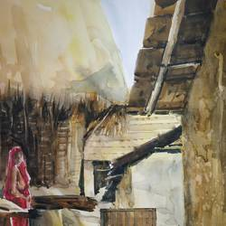 untitled, 13 x 22 inch, soyli saha,13x22inch,thick paper,paintings,landscape paintings,paintings for hotel,watercolor,GAL0606542163