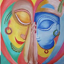 prayers from our heart, 24 x 30 inch, khushwinder singh,24x30inch,canvas,paintings,abstract paintings,paintings for dining room,acrylic color,GAL02999642165