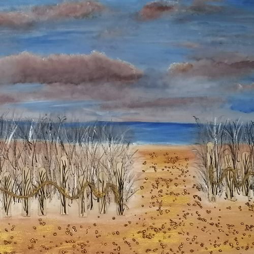 peaceful beach, golden beach , 16 x 20 inch, kavitha srikanth,16x20inch,canvas,paintings,landscape paintings,nature paintings | scenery paintings,contemporary paintings,realistic paintings,paintings for dining room,paintings for living room,paintings for bedroom,paintings for office,paintings for kids room,paintings for hotel,paintings for kitchen,paintings for school,paintings for hospital,paintings for dining room,paintings for living room,paintings for bedroom,paintings for office,paintings for kids room,paintings for hotel,paintings for kitchen,paintings for school,paintings for hospital,acrylic color,GAL03002542204