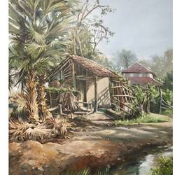 untitled, 30 x 40 inch, soyli saha,30x40inch,canvas,paintings,landscape paintings,paintings for dining room,paintings for bedroom,paintings for office,paintings for kids room,paintings for hotel,paintings for kitchen,paintings for school,paintings for hospital,oil color,GAL0606542215