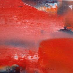 scarlet red waves part 2, 12 x 12 inch, indiagenous in,12x12inch,canvas,paintings,abstract paintings,modern art paintings,conceptual paintings,abstract expressionism paintings,art deco paintings,expressionism paintings,illustration paintings,impressionist paintings,minimalist paintings,pop art paintings,contemporary paintings,paintings for dining room,paintings for living room,paintings for bedroom,paintings for office,paintings for bathroom,paintings for kids room,paintings for hotel,paintings for kitchen,paintings for school,paintings for hospital,acrylic color,GAL02982342238