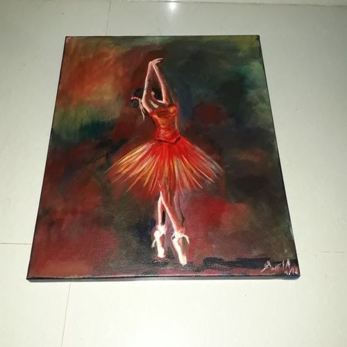 ballerina , 18 x 24 inch, sweta parmar,18x24inch,canvas,figurative paintings,paintings for dining room,paintings for living room,paintings for bedroom,paintings for office,paintings for hotel,paintings for dining room,paintings for living room,paintings for bedroom,paintings for office,paintings for hotel,acrylic color,GAL0655642257