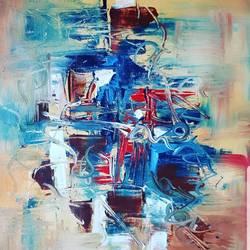 chaos, 11 x 15 inch, sweta parmar,11x15inch,canvas,paintings,abstract paintings,modern art paintings,acrylic color,GAL0655642261
