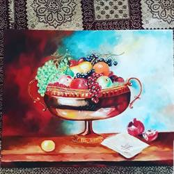 fruits , 24 x 18 inch, sweta parmar,24x18inch,canvas,still life paintings,nature paintings | scenery paintings,paintings for dining room,paintings for living room,paintings for bedroom,paintings for office,paintings for hotel,paintings for kitchen,paintings for dining room,paintings for living room,paintings for bedroom,paintings for office,paintings for hotel,paintings for kitchen,oil color,GAL0655642262