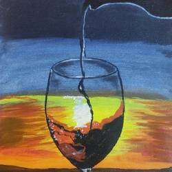 pouring wine!, 10 x 12 inch, renu joshi,10x12inch,canvas,paintings,abstract paintings,buddha paintings,wildlife paintings,figurative paintings,flower paintings,folk art paintings,foil paintings,cityscape paintings,landscape paintings,modern art paintings,multi piece paintings,conceptual paintings,religious paintings,still life paintings,portrait paintings,nature paintings | scenery paintings,tanjore paintings,abstract expressionism paintings,art deco paintings,cubism paintings,dada paintings,expressionism paintings,illustration paintings,impressionist paintings,minimalist paintings,photorealism paintings,photorealism,pop art paintings,portraiture,realism paintings,street art,surrealism paintings,ganesha paintings | lord ganesh paintings,animal paintings,radha krishna paintings,contemporary paintings,realistic paintings,love paintings,horse paintings,mother teresa paintings,dog painting,elephant paintings,water fountain paintings,baby paintings,children paintings,kids paintings,islamic calligraphy paintings,madhubani paintings | madhubani art,warli paintings,lord shiva paintings,kalighat painting,phad painting,kalamkari painting,miniature painting.,gond painting.,kerala murals painting,serigraph paintings,paintings for dining room,paintings for living room,paintings for bedroom,paintings for office,paintings for bathroom,paintings for kids room,paintings for hotel,paintings for kitchen,paintings for school,paintings for hospital,acrylic color,oil color,pastel color,poster color,watercolor,paper,GAL02896742298